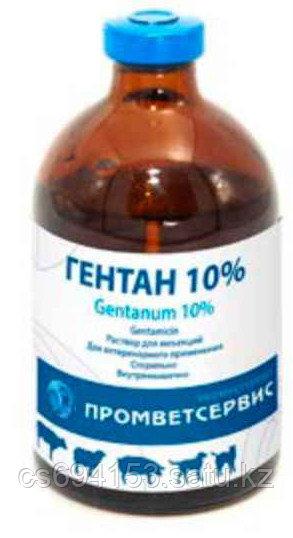 Гентан 10% (100 мл) Антибиотик из группы аминогликозидов