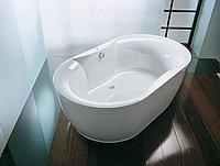 Ванна акриловая овал Kalpa San GLORIANA 190*110, BASIS раз без (в комплекте с каркасом, С/П)(5390002)