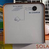 Солнечная система освещения, солнечная станция . Переносная солнечная станция. Туристическая солнечная станция, фото 4