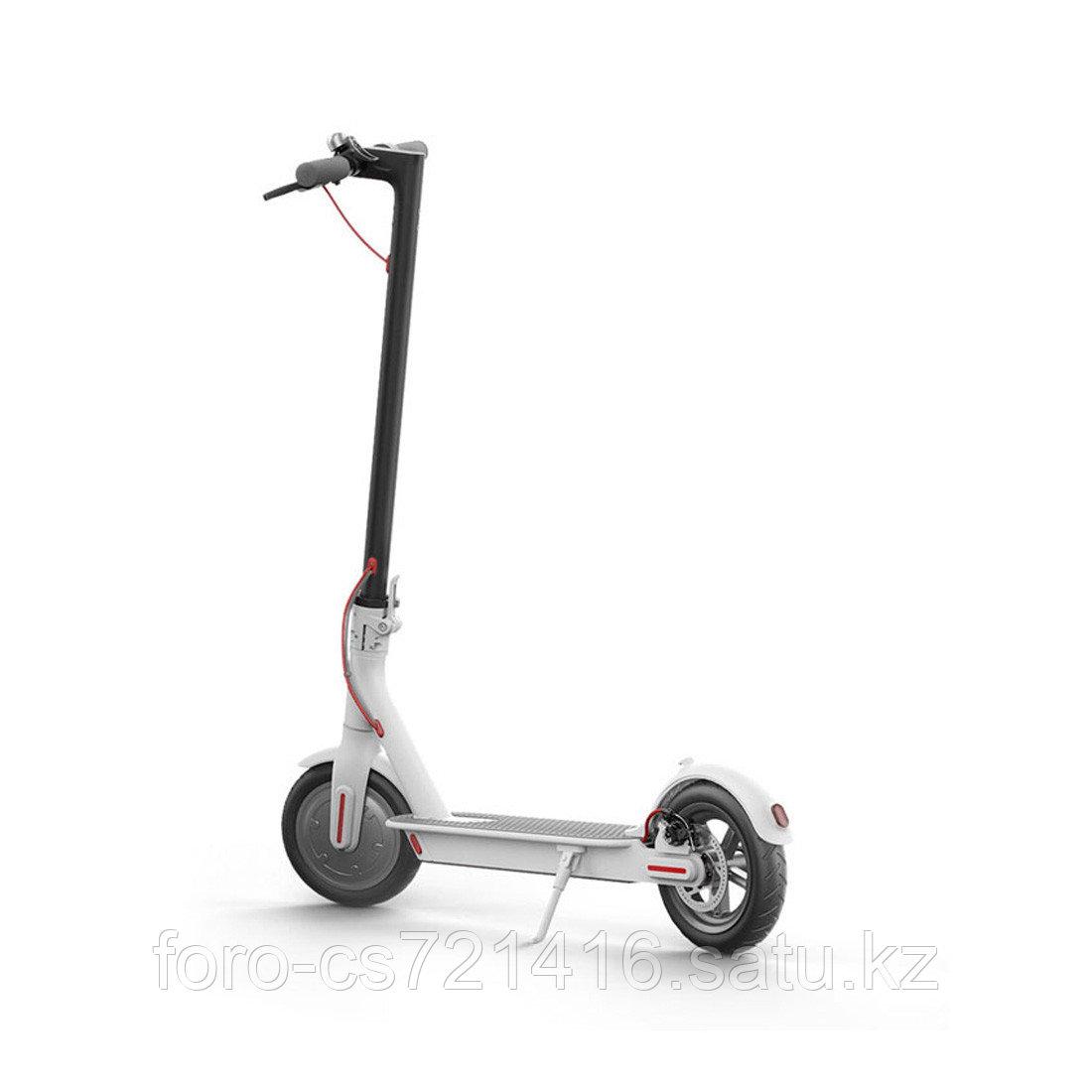Электросамокат Xiaomi MiJia Smart Electric Scooter (M365) Белый - фото 1