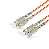Патч Корд Оптоволоконный SC/UPC-SC/UPC MM OM1 62.5/125 Duplex 3.0мм 1 м