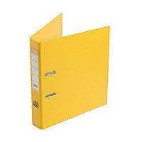 Папка регистратор Deluxe с арочным механизмом, Office 2-YW5, А4, 50 мм, жёлтый