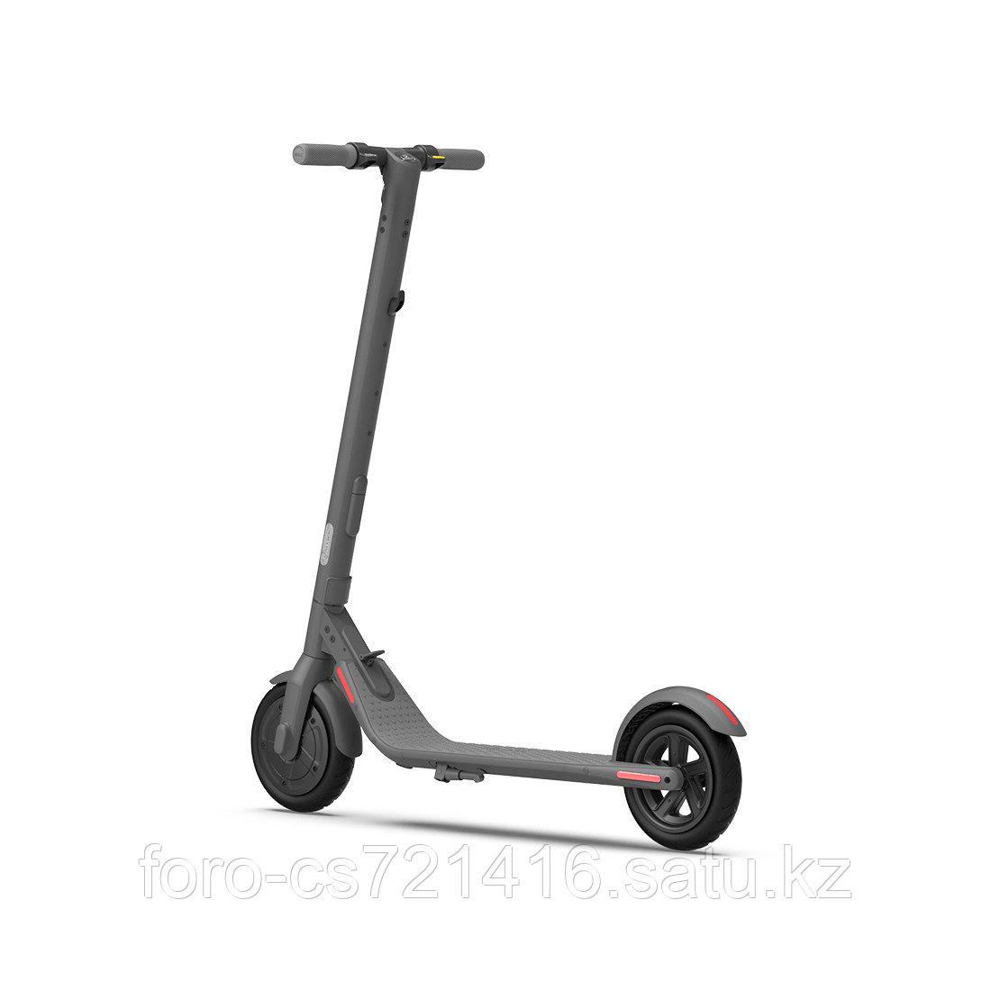 Электросамокат Ninebot KickScooter E22 Темно-серый - фото 2