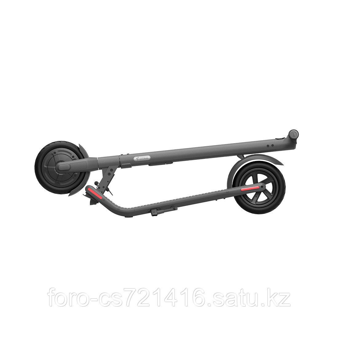 Электросамокат Ninebot KickScooter E22 Темно-серый - фото 3