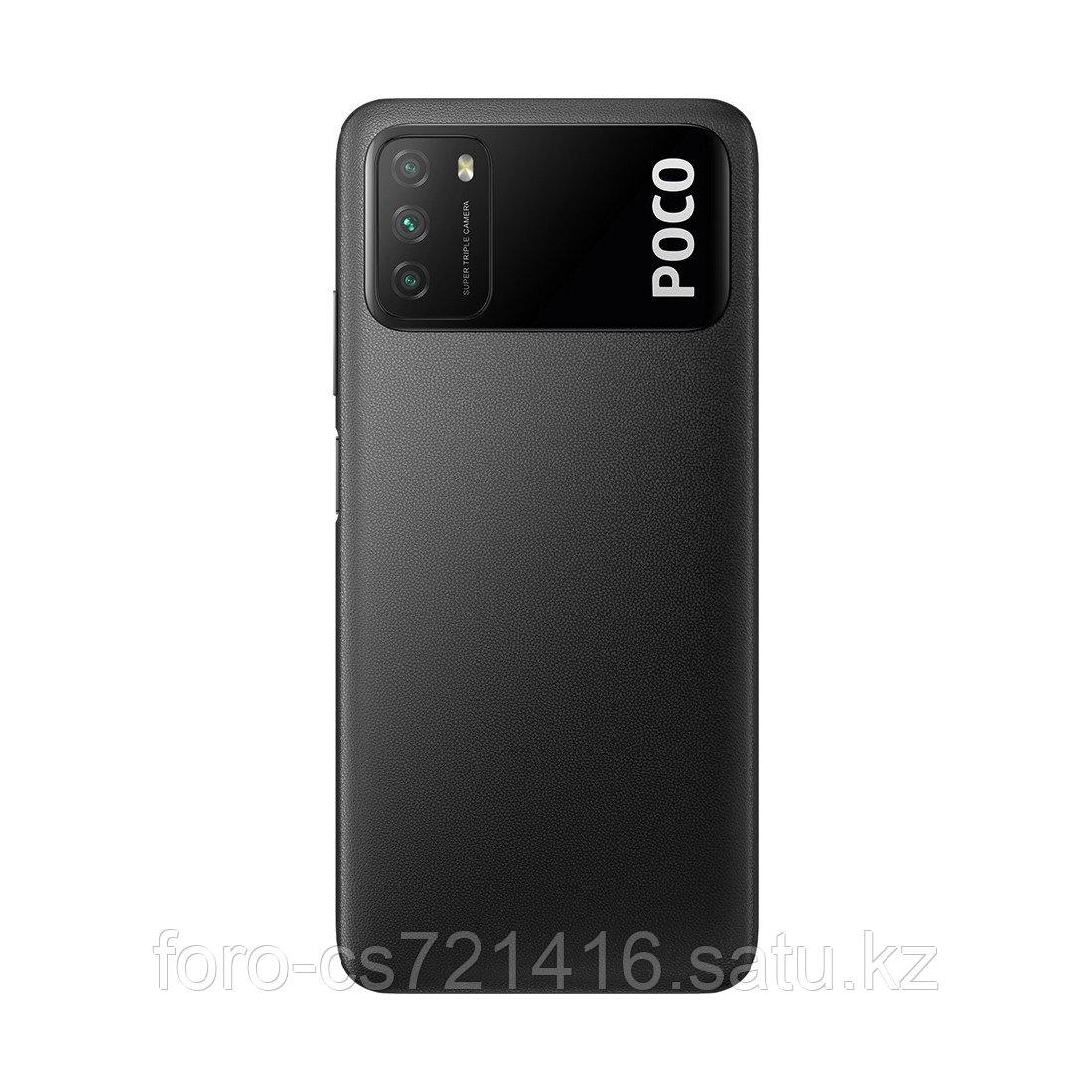 Мобильный телефон Poco M3 64GB Power Black - фото 2
