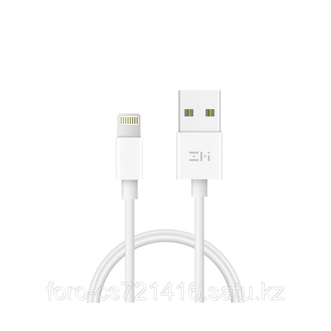 Интерфейсный кабель USB-Lightning Xiaomi ZMI AL831 200 см Белый - фото 1