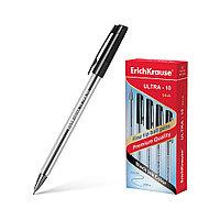 Ручка шариковая ErichKrause® ULTRA-10, цвет чернил черный (в коробке по 12 шт.)