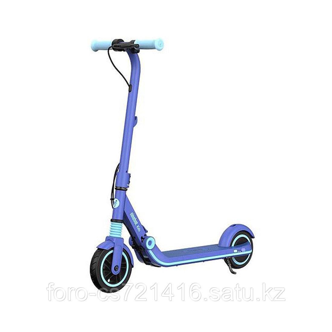 Электросамокат детский Ninebot KickScooter E8 Синий - фото 1