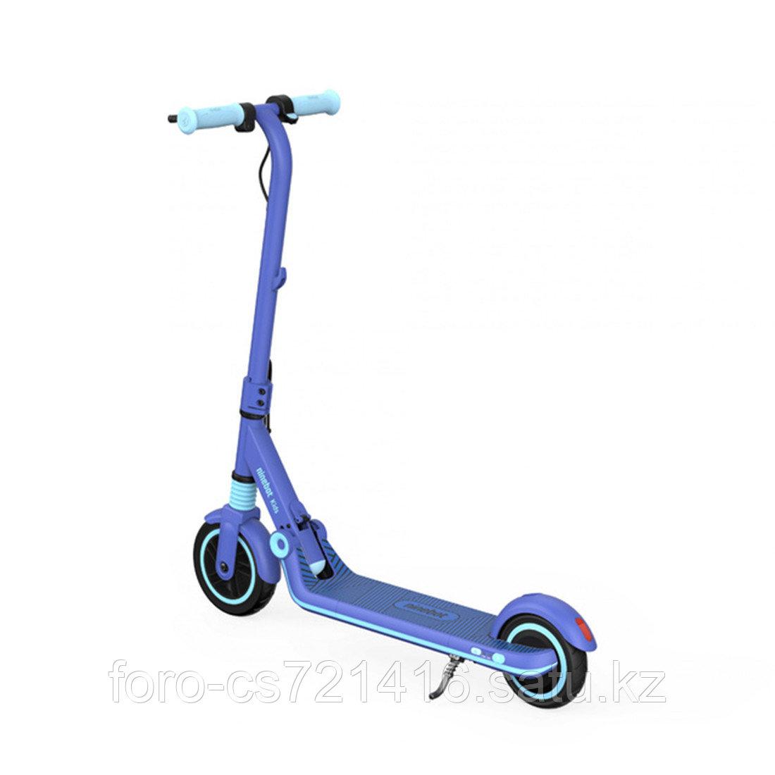 Электросамокат детский Ninebot KickScooter E8 Синий - фото 2