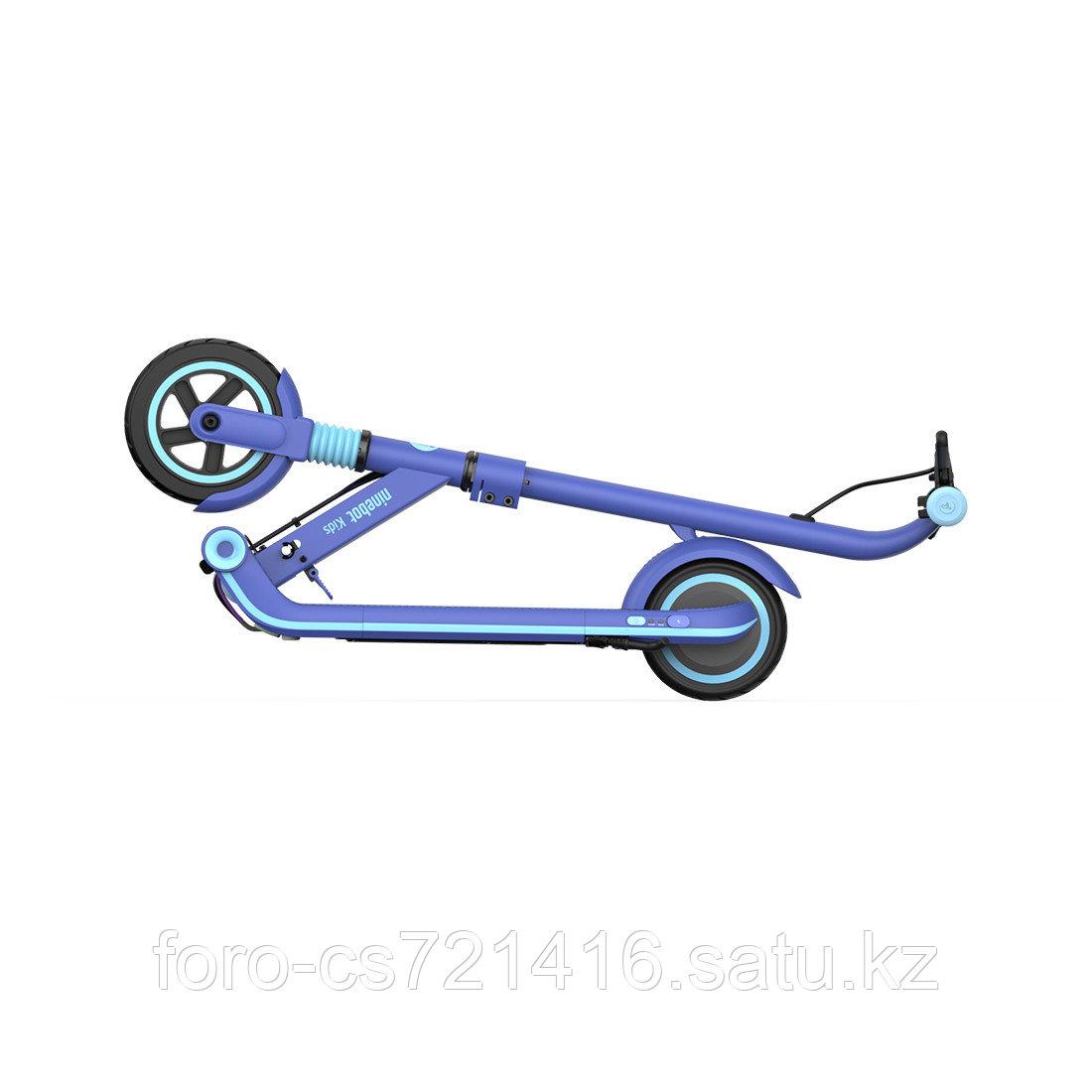Электросамокат детский Ninebot KickScooter E8 Синий - фото 3