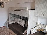 Кровать 2х ярусная с дополнением на 4 спальных места, фото 2