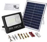 Прожектор на солнечной батарее 25 ватт LED для наружного и внутреннего освещения, фото 10