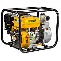 """Мотопомпа бензиновая для чистой воды PX-50, 7 л.с, 2"""", 600 л/мин, глубина 8 м, напор 30 м Denzel"""