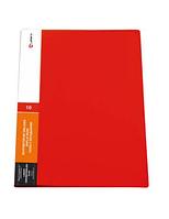 Папка Lamark с 20 прозрачными вкладышами, красная