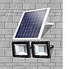 Прожектор на солнечной батарее 50 ватт LED для наружного и внутреннего освещения, фото 3