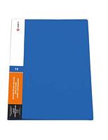 Папка Lamark с 20 прозрачными вкладышами, синяя