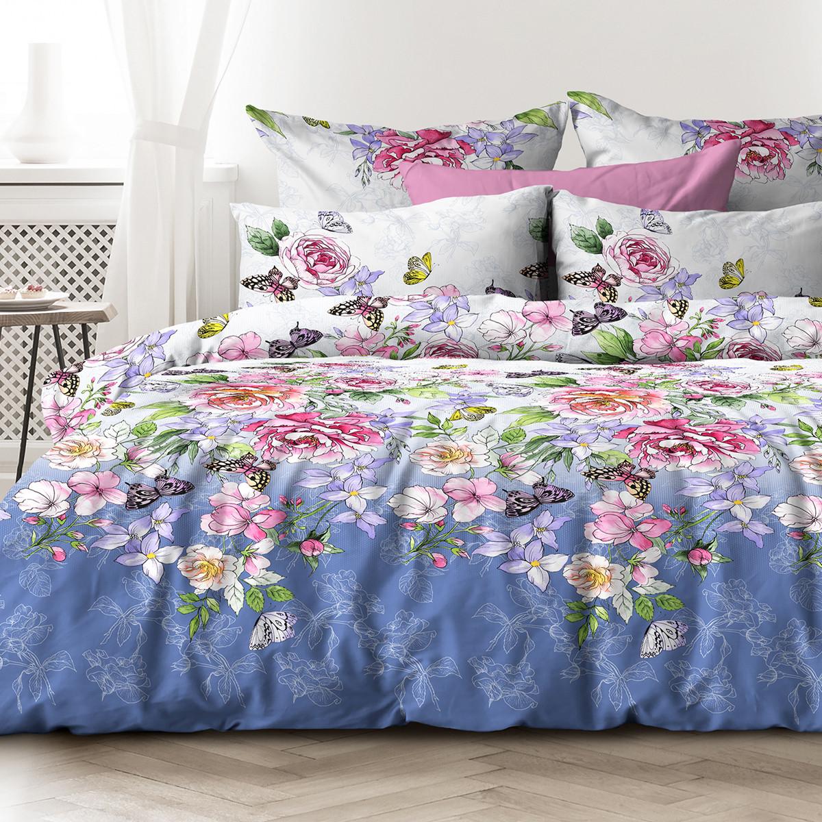 Любимый дом Комплект постельного белья  Райский сад, Дуэт( семейный набор)