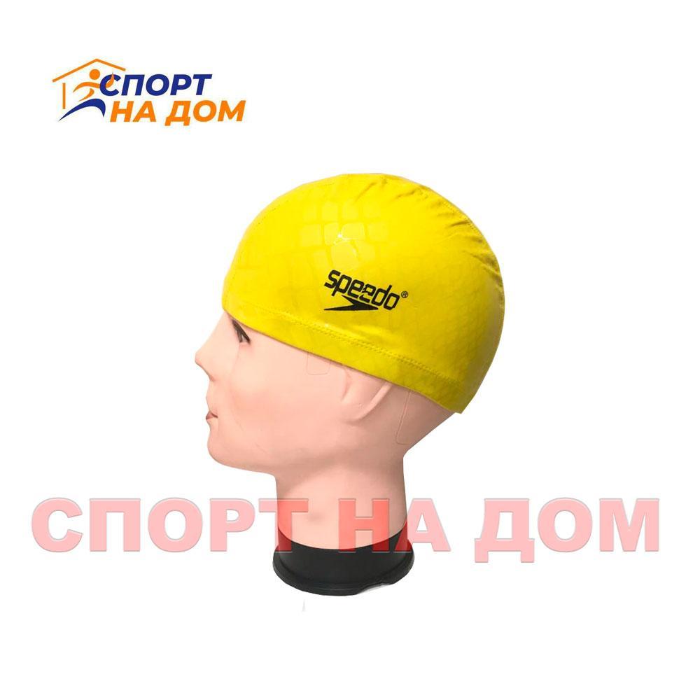 Шапочка для плавания SPEEDO (цвет желтый)