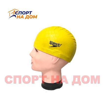 Шапочка для плавания SPEEDO (цвет желтый), фото 2