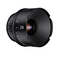 XEEN 24mm T1.5 FF CINE Lens Sony E кинообъектив с алюминиевым корпусом Samyang