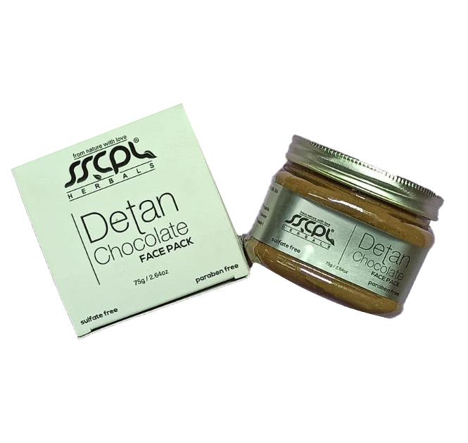 Маска для лица с шоколадом (Chocolate Face Pack SSCPL Herbals), 75 грамм