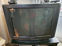 Телевизор Sony тринитрон, японские запчасти, собран в Малайзии