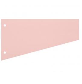 Разделители картонные Attache 12х23см, 100шт/уп, розовый