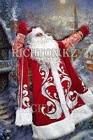 Костюм Деда Мороза синий, красный- любой размер