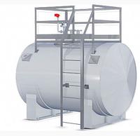 Стальной резервуар для воды 6 м3