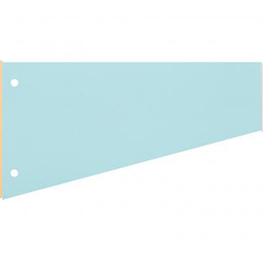 Разделители картонные Attache 12х23см, 100шт/уп, голубой