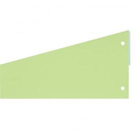 Разделители картонные Attache 12х23см, 100шт/уп, зеленый