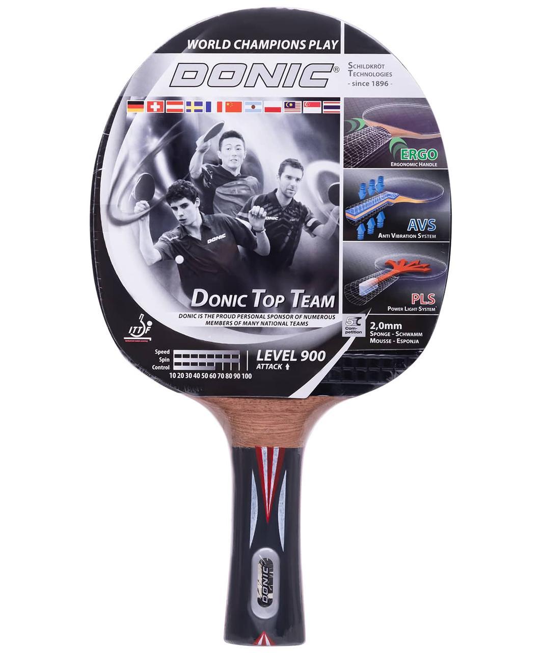 Ракетка для настольного тенниса Top Team 900 Donic