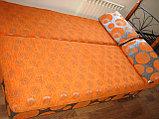 Тахта раскладная оранжевая, фото 2