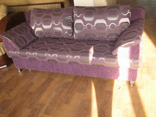 Тахта раскладная фиолетовая
