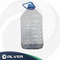 Бутылка прозрачная с крышкой 5 лит
