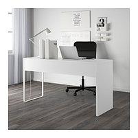 """MICKE Микке Письменный стол, белый142x50 см "", фото 4"