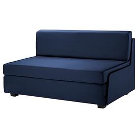 2-местный диван-кровать Свэнста, темно-синий