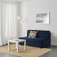2-местный диван-кровать Свэнста, темно-синий, фото 3