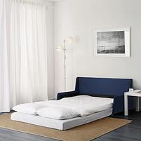 2-местный диван-кровать Свэнста, темно-синий, фото 2