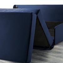 2-местный диван-кровать Свэнста, темно-синий, фото 5