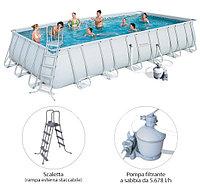 Каркасный бассейн Bestway Power Steel 732 х 366 х 132 см