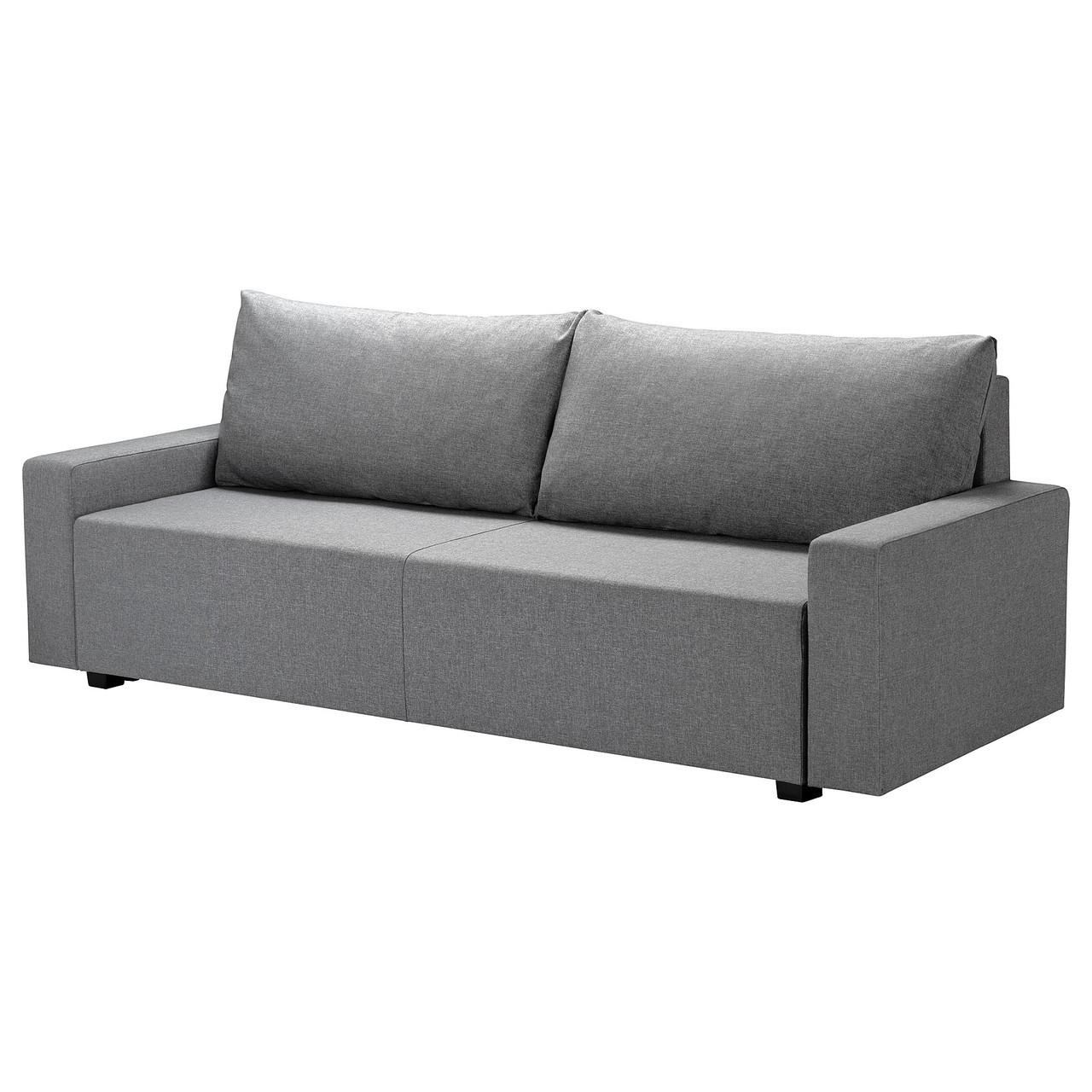 3-местный диван-кровать GIMMARP Гиммарп, Рудорна светло-серый