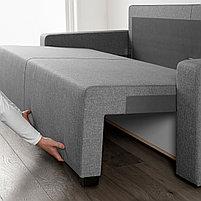 3-местный диван-кровать GIMMARP Гиммарп, Рудорна светло-серый, фото 8