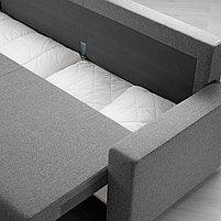 3-местный диван-кровать GIMMARP Гиммарп, Рудорна светло-серый, фото 5