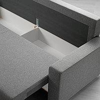 3-местный диван-кровать GIMMARP Гиммарп, Рудорна светло-серый, фото 4