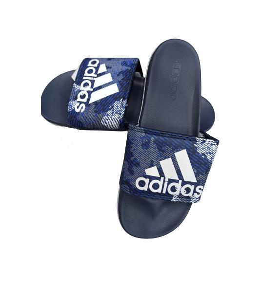 Сланцы синие Adidas размеры 40-45