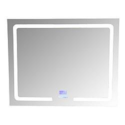 SMART Зеркало 100х80 с подсветкой, подогревом и Bluetooth музыкальным блоком
