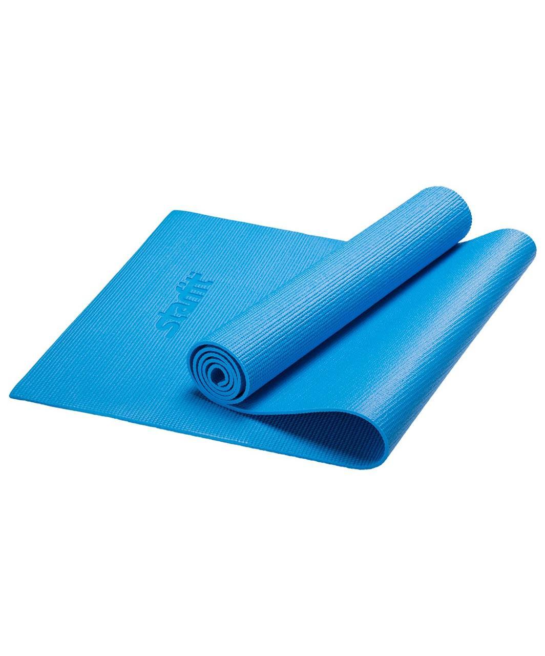 Коврик для йоги FM-101, PVC, 173x61x0,3 см,  Starfit