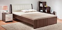 Кровать Гнутая спинка 1600