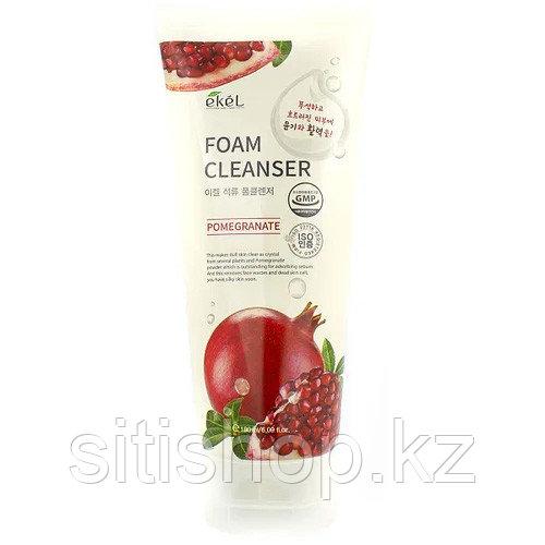 Ekel Pomegranate Foam Cleanser 100 мл Пенка для умывания с экстрактом граната